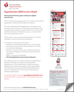 2020 Virtual Event and Heart Hub Prospectus